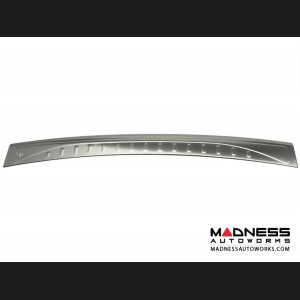FIAT 500X Rear Bumper Sill Cover - Stainless Steel - Brushed Finished