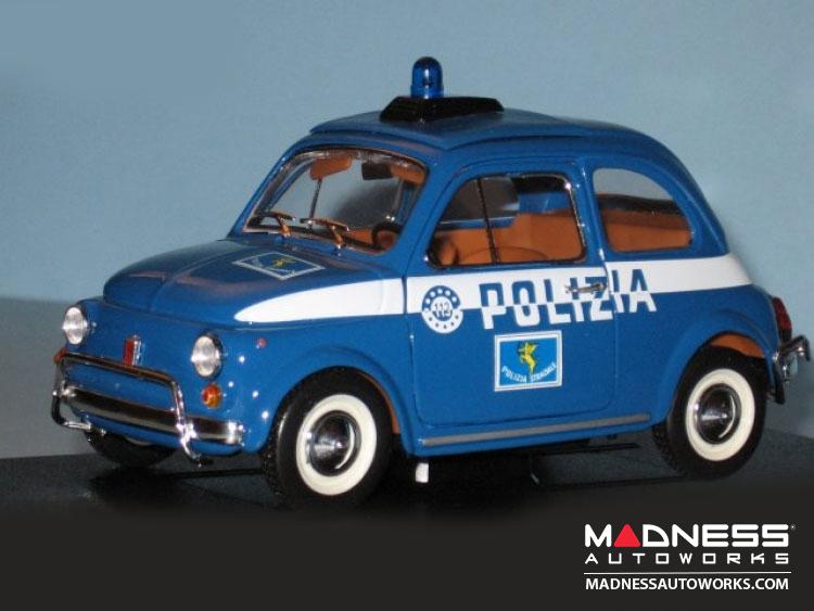 Fiat 500 Diecast Model 1 24 Scale Polizia Security Team Fiat