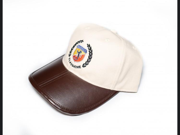 Cap - ABARTH - Classic Design w/ Brown Visor
