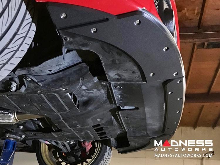FIAT 500 Front Bumper Skid Plate - ProTEKt - Custom Fit