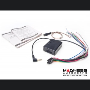 FIAT 500 OEM Steering Wheel Control Conversion Kit for Aftermarket Radios