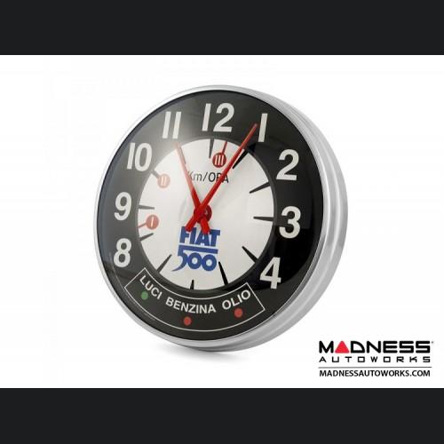 Classic Fiat 500 Wall Clock