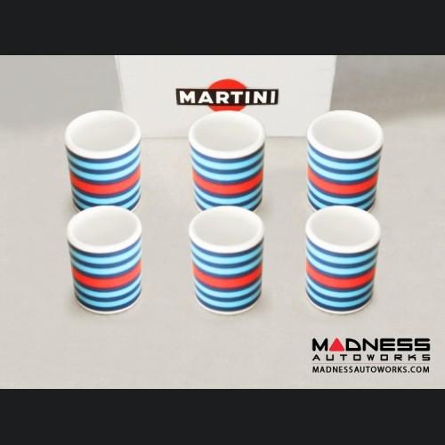 MARTINI Racing Cup Set (6) - MARTINI Racing Stripes