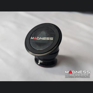 FIAT 500 360 Degree Magnetic Smartphone Mount by MADNESS - Black