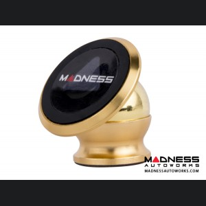 FIAT 124 360 Degree Magnetic Smartphone Mount by MADNESS - Gold