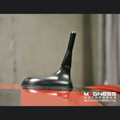 FIAT 500 Stubby Antenna - Black - Pre '16 Models