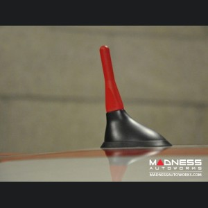 FIAT 500 Stubby Antenna - Red - Pre '16 Models