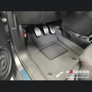 FIAT 500 Floor Liners - Premium - Front + Rear Set
