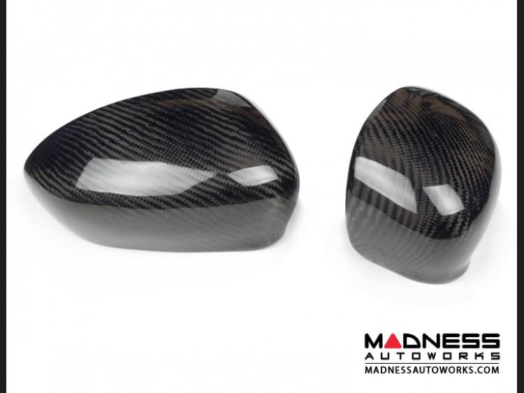 FIAT 500 Mirror Covers - Carbon Fiber - Autoplus