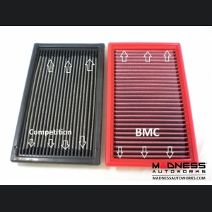FIAT 124 Factory Air Filter Housing Upgrade Kit - SILA Concepts - Black Silicone - Deluxe Kit w/ BMC Filter