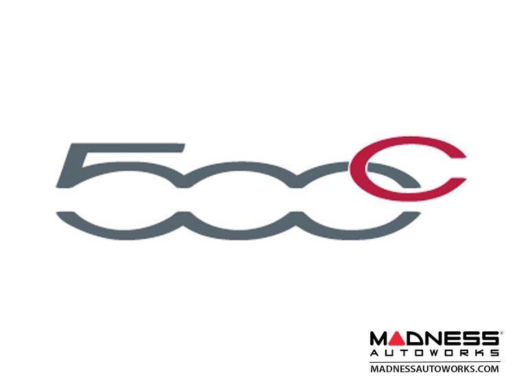 Fiat 500 Windshield Insurance Document Holder 500c Logo