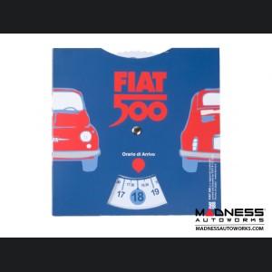Classic Fiat 500 Parking Timer Disc - Large