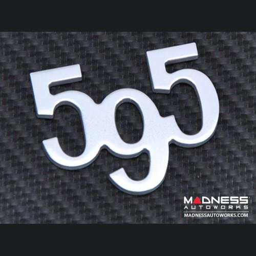 FIAT 500 Badge - 595 Number Badge