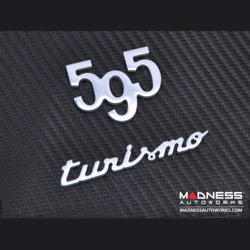 FIAT 500 Badge - 595 turismo
