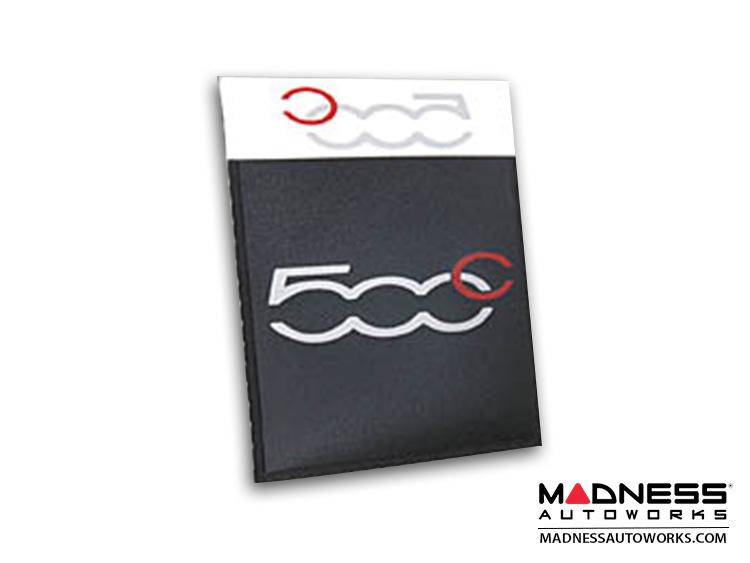 Windshield Insurance Document Holder - FIAT 500c Logo