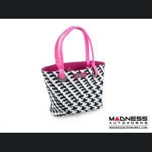 FIAT 500 Ladies Shopping Bag - 80's Flashback Design - V1
