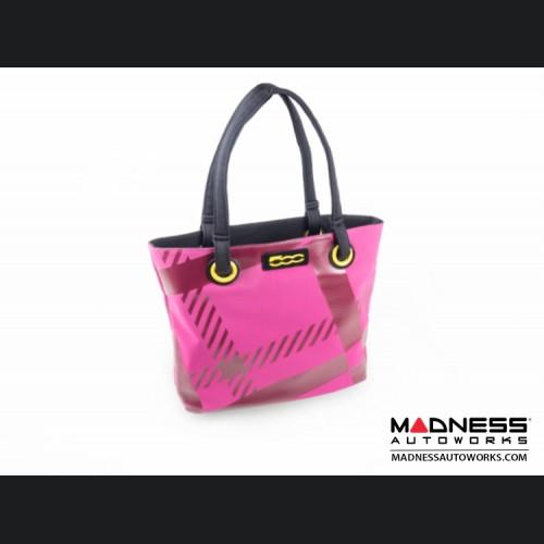 FIAT 500 Ladies Shopping Bag - 80's Flashback Design - V3