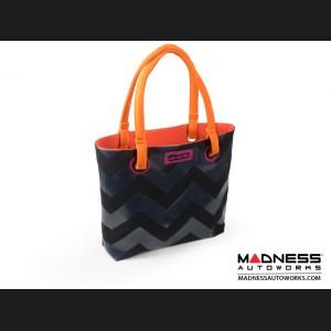 FIAT 500 Ladies Shopping Bag - 80's Flashback Design - V2
