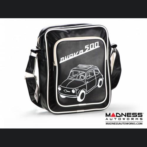 Shoulder Bag - FIAT 500 - Black - Medium