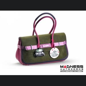 FIAT 500 Italian Ladies Handbag - Chic Bicolor - Large Size