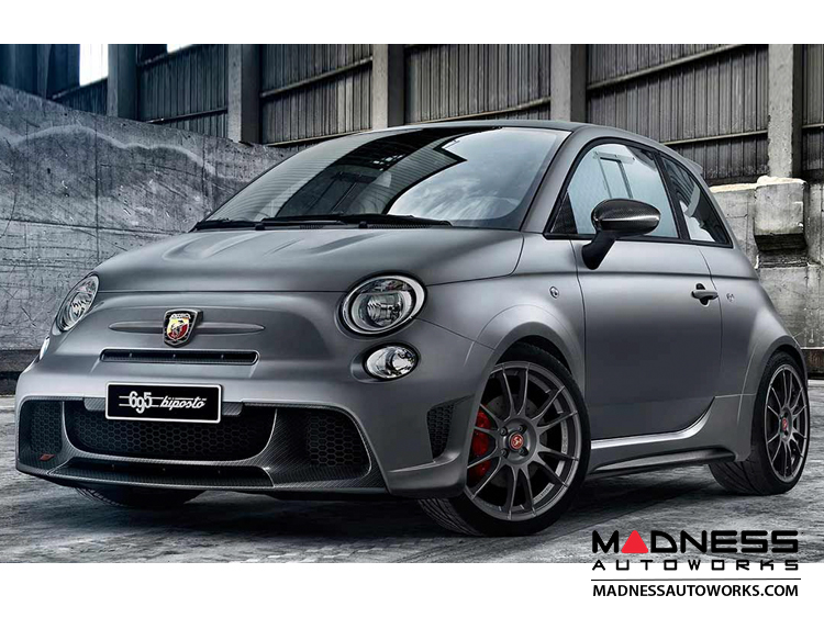 fiat 500 abarth front emblem in matte gray finish 595 edition fiat 500 parts and accessories. Black Bedroom Furniture Sets. Home Design Ideas