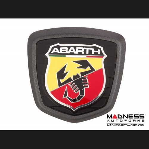 FIAT 500 ABARTH Rear Badge in Matte Gray - 595 Edition