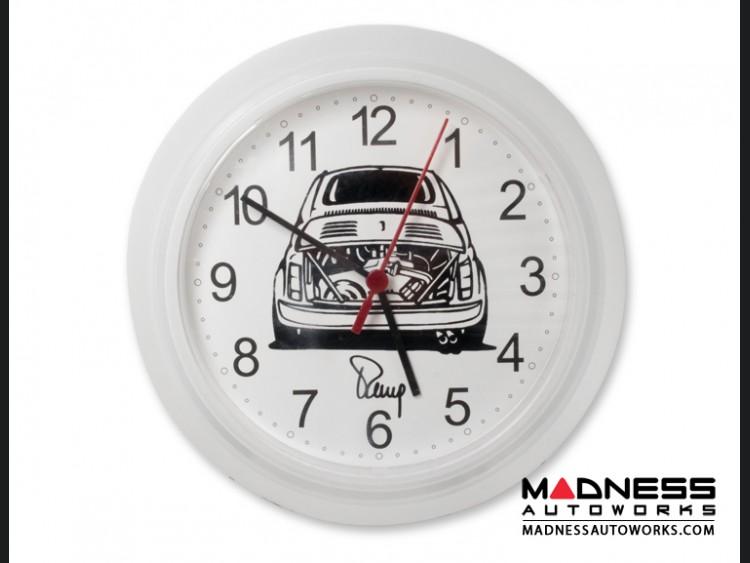 Classic Fiat 500 ABARTH Wall Clock