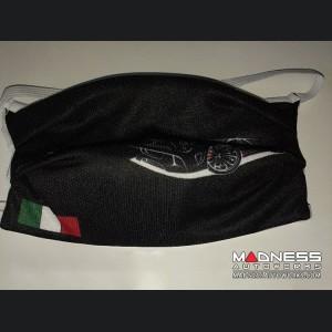 Face Mask - FIAT 500 Theme - 595 ABARTH/ Italian Flag Design