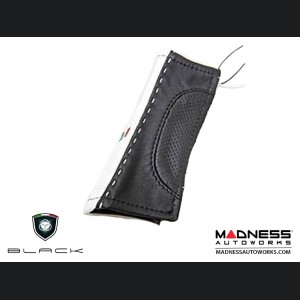 FIAT 500 eBrake Handle Cover - Leather - Black Tuxedo