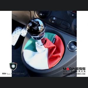 FIAT 500 Gear Shift Boot - Italian Colors Leather