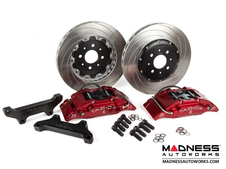 fiat 500 brake upgrade kit tarox 6 pot brake conversion kit red sport plus fiat 500. Black Bedroom Furniture Sets. Home Design Ideas