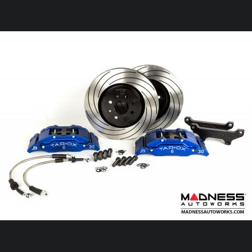 FIAT 500 Brake Upgrade Kit - Tarox 6 Pot Brake Conversion Kit - Blue - Sport Series