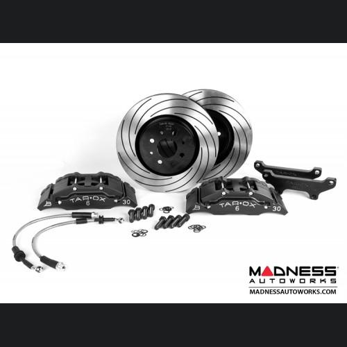 FIAT 500 Brake Upgrade Kit - Tarox 6 Pot Brake Conversion Kit - Black - Sport Series
