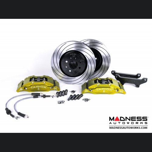 FIAT 500 Brake Upgrade Kit - Tarox 6 Pot Brake Conversion Kit - Gold - Sport Series