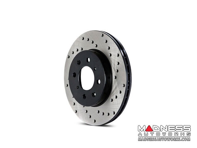 FIAT 500X Performance Brake Rotor - Drilled - Rear Right