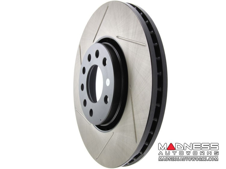 FIAT 500X Performance Brake Rotor - Slotted - Rear Left