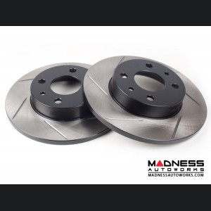 FIAT 500 Brake Rotors by SILA Concepts - Performance Plus - Rear Set