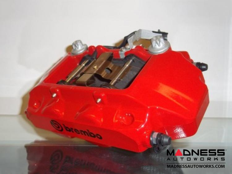 fiat 500 brake conversion kit brembo gran turismo kit floating 285mm rotors fiat 500 parts. Black Bedroom Furniture Sets. Home Design Ideas