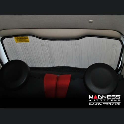 FIAT 500 Sun Shade/ Reflector - Rear Window - Cabriolet