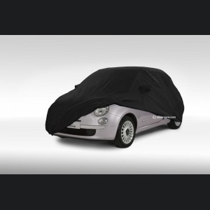 FIAT 500 Custom Vehicle Cover - Indoor - Fitted/ Deluxe - Soft Stretch + Fleece Lined - CoverZone