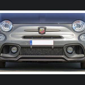 FIAT 500 Front Splitter Lip - Carbon Fiber - 595 Style - EU Model - Matte
