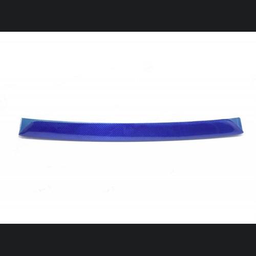 FIAT 500 Front Splitter Lip - Carbon Fiber - 595 Style - EU Model - Blue
