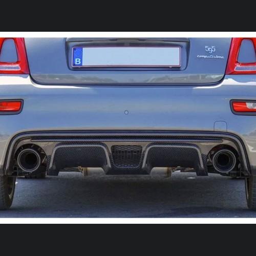 FIAT 500 ABARTH Rear Diffuser Lip - Carbon Fiber - European Model