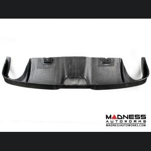 FIAT 500 Rear Diffuser - Carbon Fiber - Dual Exit - Lusso