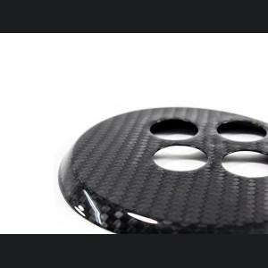 FIAT 500 Gear Panel - Carbon Fiber