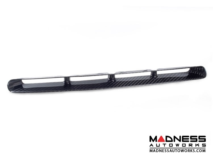 FIAT 500 ABARTH Front Bumper Grill Insert - Carbon Fiber - European Model