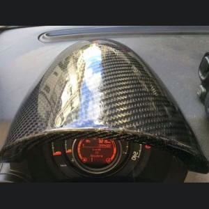FIAT 500 Instrument Cover - Carbon Fiber