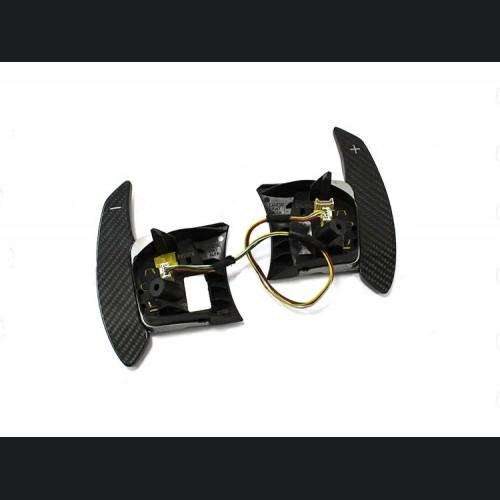 FIAT 500 Paddle Shifters in Carbon Fiber - EU Model
