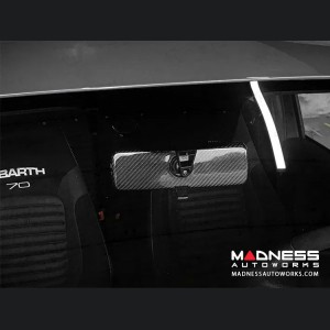 FIAT 500 ABARTH Interior Mirror Cover - Carbon Fiber