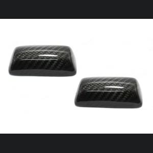 FIAT 500 Seat Belt Handle Cover - Carbon Fiber - EU Model